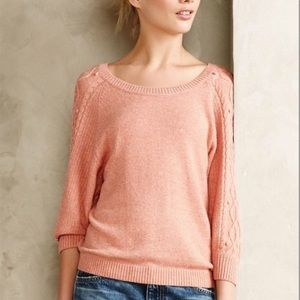 Moth Anthropologie Icehouse Pullover Sweater